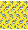 Seamless Toffee pattern icon vector image vector image