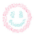 smile love poster template vector image vector image