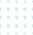 tree icon pattern seamless white background vector image vector image