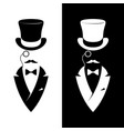 Vintage label gentlemen club hipster logo