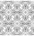 abstract decorative seamless pattern vector image