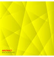 Abstract Yellow Geometric Background vector image vector image