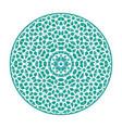 asian geometric mandala vector image vector image