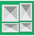 ceiling ventilation shutters vector image