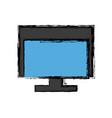 screen computer monitor computer display device vector image vector image