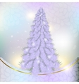 Christmas pink grey herringbone on abstract vector image vector image