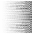 halftone of radial gradient with black dots vector image vector image