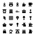Kitchen Utensils Icons 10 vector image vector image
