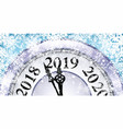 new year and christmas concept vector image vector image