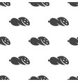 sausage seamless pattern vector image vector image