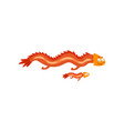 adult dragon and small baby dragon mother and her vector image vector image