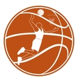 Basketball-2 vector image vector image