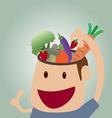 Brains food concept