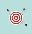 dart goals target business concept icon with vector image