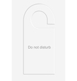 Donotdisturb copy vector image