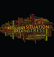 eliminate stress and anxiety from your life vector image vector image