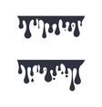 ink drop icon design vector image vector image