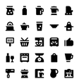 Kitchen Utensils Icons 11 vector image vector image
