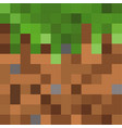 pixel background the concept games background vector image vector image