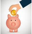savings and money concept vector image