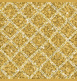 seamless yellow gold glitter texture with silver vector image vector image