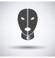 Sex mask icon vector image