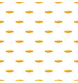 sweet candy in yellow wrap pattern vector image vector image
