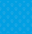 lamp pattern seamless blue vector image vector image