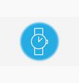 watch icon sign symbol vector image vector image