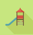 slide play equipment vector image