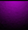 abstract dark purple polygonal which consist of vector image vector image