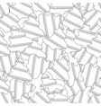gingerbread black and white for vector image vector image
