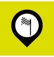 golf championship design vector image vector image