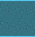 pattern with optical striped background vector image