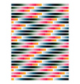striped colorful background vector image vector image