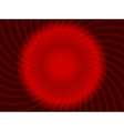 abstract swirl red design vector image