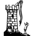 Rapunzels Tower vector image