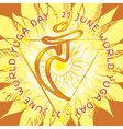 7chkara Manipura vector image
