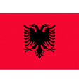 albanian flag vector image