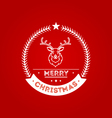 Christmas Badge 2 vector image