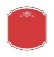 frame elegant isolated icon vector image vector image