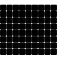 repeatable monochrome grid mesh with crosses at vector image