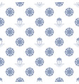 seamless maritime pattern vector image vector image