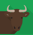 buffalo icon set of great flat icons design vector image
