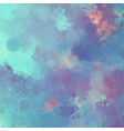 decorative watercolor background vector image vector image