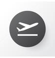 departure icon symbol premium quality isolated vector image vector image