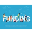 Funding concept vector image
