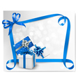 Holiday background with gift box vector | Price: 1 Credit (USD $1)