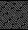 line art wavy seamless pattern vector image