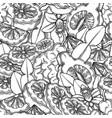 seamless pattern graphic bergamot fruits vector image